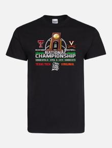 2019 Texas Tech Red Raiders National Championship Black Gameday Short Sleeve