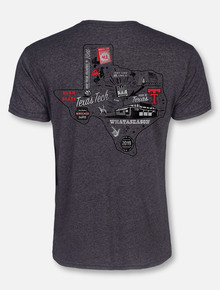 "Official Whataburger Texas Tech Basketball ""WHATASEASON"" GREY T-Shirt"