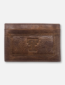 Texas Tech Red Raiders Double T Westbridge Clip Card Holder