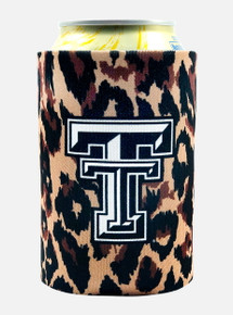 Texas Tech Red Raiders Leopard Can Cooler