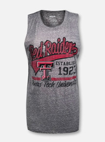 """Texas Tech Red Raiders """"Tailspin"""" Hi-Lo Muscle Tank Top"""