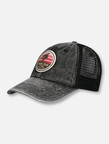 Texas Tech Red Raiders Rearing Rider Patch on Trucker Hat