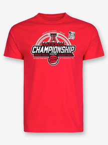 "2019 National Championship Texas Tech Red Raiders ""Title Game"" Red T-Shirt"