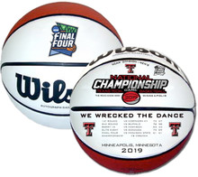 2019 Texas Tech National Championship Game Wilson Official Basketball of the Final Four  (EXPECTED SHIP 6/19/19)
