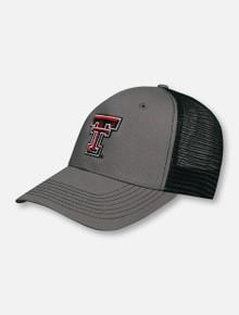 "Texas Tech Red Raiders Double T ""Caviar"" Snapback Cap"