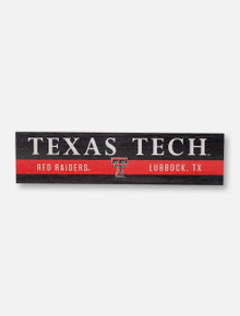 Texas Tech Red Raiders Plank Magnet
