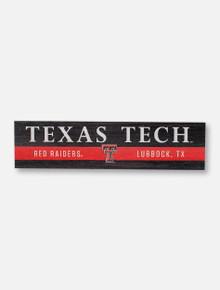 Texas Tech Red Raiders Plank Magnet