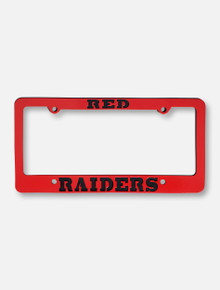 Texas Tech Red Raiders Metal License Plate Frame