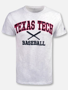 Texas Tech Red Raiders Arch over Baseball T-Shirt