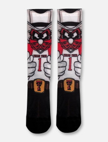 "Texas Tech Red Raiders Double T Raider Red ""HyperOptic"" Socks"