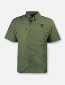 Texas Tech Red Raiders Double T Microfiber Fishing Shirt