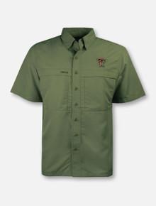 GameGuard Texas Tech Red Raiders Double T Microfiber Fishing Shirt
