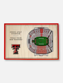 Texas Tech Red Raiders 3D Desktop Stadium View Decor