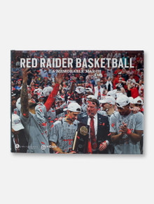 "Texas Tech Red Raiders Basketball ""A Memorable March"" Hardcover Book"