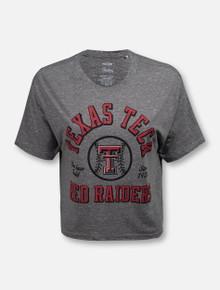 "Texas Tech Red Raiders Double T ""Bishop"" Crop Top"