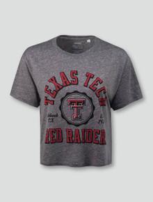 "Texas Tech Red Raiders ""Bishop Seal"" Crop Top"