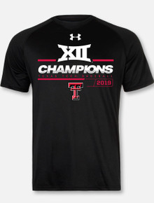 Under Armour Texas Tech Red Raiders 2019 Men's Big 12 Baseball  Championship T-Shirt