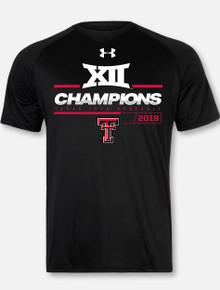 Under Armour Texas Tech Red Raiders 2019 Men's Big 12 Baseball  Championship T-Shirt