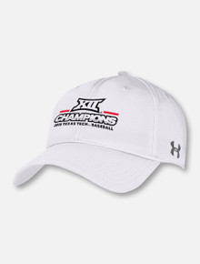 Under Armour Texas Tech Red Raiders 2019 Men's Big 12 Baseball  Championship Hat