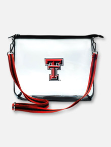 Texas Tech Red Raiders Double T Clear Simple Tote