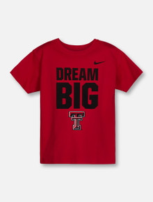 "Nike Texas Tech Red Raiders ""Dream Big"" YOUTH T-Shirt"
