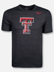 Nike Texas Tech Red Raiders Large Double T with Red Swoosh T-Shirt