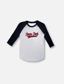 Texas Tech Red Raiders 3/4 Sleeve Baseball Raglan TODDLER T-Shirt