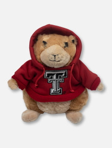 Texas Tech Red Raiders Prairie Dog Plush with Double T Hoodie