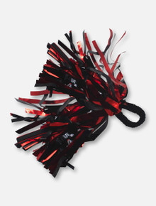 Texas Tech Red Raiders Black and Red Wrist Pom Pom