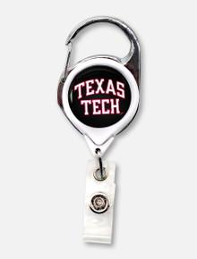 Texas Tech Red Raiders Round Badge Reel Holder