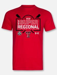 Under Armour Texas Tech Baseball 2019 Men's Baseball Super Regional T-Shirt