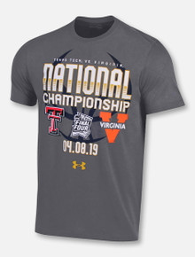 "Under Armour Texas Tech Red Raiders 2019 National Championship ""Glory Road"" T-Shirt"