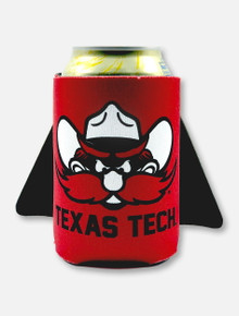 Texas Tech Red Raiders Double T Can Cooler with Cape