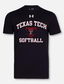"Under Armour Red Raiders Texas Tech ""Softball"" T-Shirt"