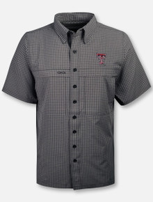 "GameGuard Texas Tech Red Raiders Double T ""TekCheck"" Microfiber Shirt"