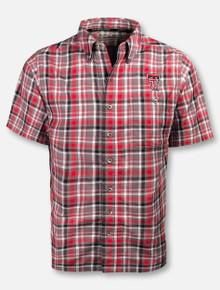 GameGuard Texas Tech Red Raiders Double T Plaid Cotton Microfiber Shirt