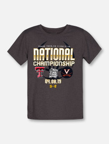 "Under Armour Texas Tech Red Raiders 2019 National Championship ""Glory Road"" YOUTH T-Shirt"