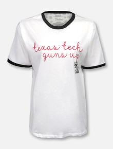 "Texas Tech Red Raiders Pressbox ""Regan Script"" T-Shirt"