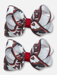 Texas Tech Red Raiders TODDLER 2 Pack Loop Bows