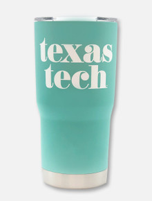 "Texas Tech ""Pristine"" Double Walled 20 oz Tumbler"