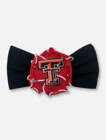 Texas Tech Red Raiders Multi-petal Flower Stretch Baby Headband