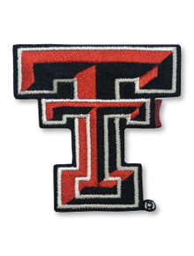 """Texas Tech Red Raideres 2 1/2"""" Double T Patch Clip"""