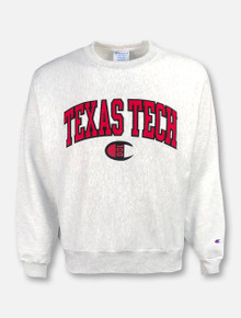 Champion 100th Anniversary Texas Tech Red Raiders Reverse Weave Crew