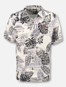 "Tommy Bahama Texas Tech Red Raiders ""Sport Super Fan Silk Camp"" Short Sleeve Button Down"