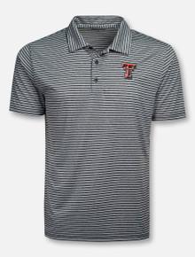 "Champion Texas Tech Red Raiders ""Stadium"" Stripe Polo"