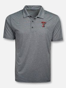 "Champion Texas Tech Red Raiders ""Stadium"" Stripe Polo"