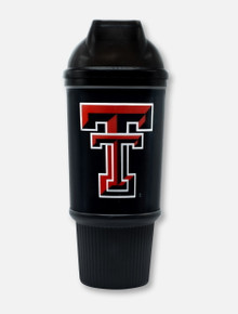 Texas Tech Red Raiders Double T and Masked Rider Domed Tumbler