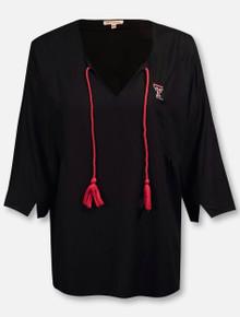 UG Apparel Texas Tech Red Raiders Double T Tassel Tunic