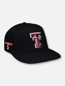 "Under Armour Texas Tech Red Raiders ""Mahomes 5"" Fitted Flat Bill (Size L,XL Expected Ship Date 3/11)"