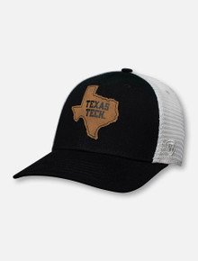 "Top of the World Texas Tech Red Raiders ""Precise"" Black Snapback Cap"